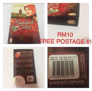Novel Melayu PTS Hidayah Cinta Ilham Hamdani