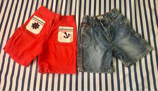 Free SF - 2 shorts (denim) bundle preloved
