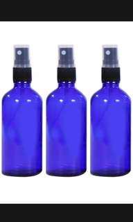 Glass spray bottle 100ml