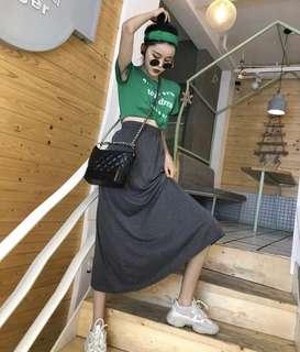 穿一次!!休閒運動風 套裝 均碼 送髮帶