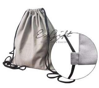 Cheap canvas Drawstring Bag