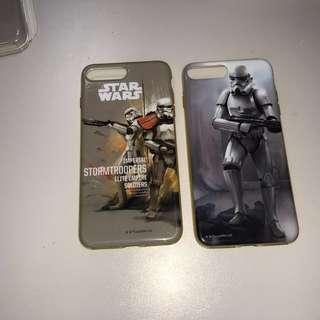 2個 iPhone 7/8 Plus Starwar 星戰手機保護軟套/殻