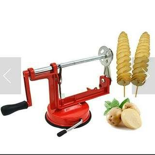 Alat pengiris kentang timun bawang tomat bentuk spiral