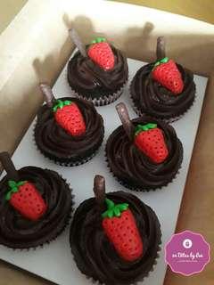 Chocolate Cupcake Bites (Box of 6)