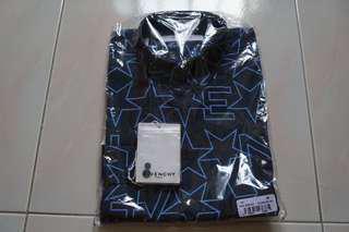 Givenchy Logo Signature Men Long sleeve shirt Size 38