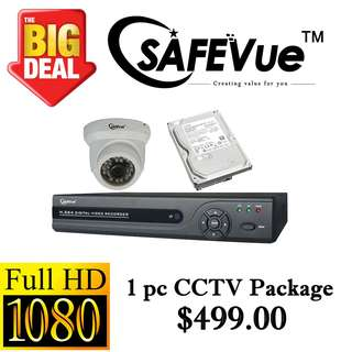 SafeVue 1080P IP CCTV Package 1 =)