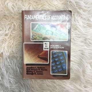 Fundamentals of Accounting by Josefine L. Beticon, Earl Jimson R. Garcia, Shirley C. Irenio, and George R. James