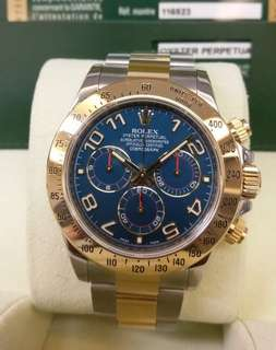 勞力士ROLEX Daytona 116523 Blue
