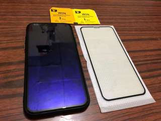iPhone X 手機mon貼
