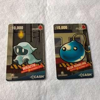 Maplestory ACash/@Cash Card/Cash Card