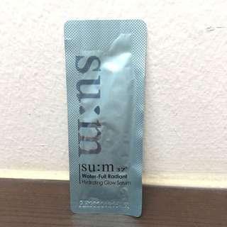 SU:M37 Water-full Radiant Hydrating Glow Serum Sample