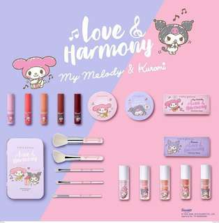 🚚 Cute Press x My Melody Limited Edition Makeup(PO closing 12th Aug)