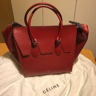 [全新]Celine 酒紅手袋