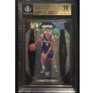 Kyle Kuzma 2017-18 Panini Original Basketball Card BGS 10