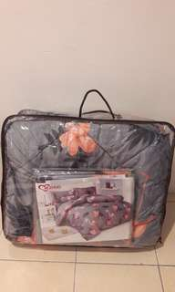 Bedsheet Set Flamingo Design