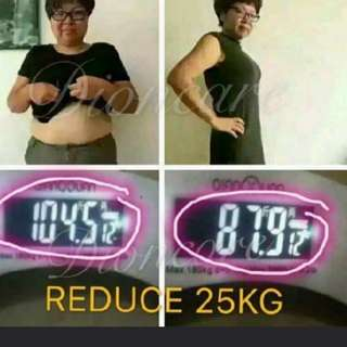 Detox solution slimming cream
