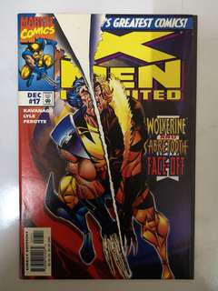 MARVEL COMICS X-MEN UNLIMITED #17