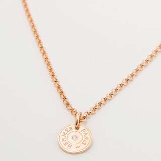 🆕Hermes gambade pendant 玫瑰金鑽石項鍊