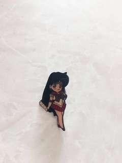 美少女戰士襟章(火野麗)