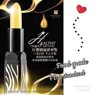 Legend age healthy cherry 🍒 lipstick 💄