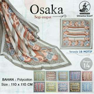 Hijab Segi Empat Osaka by Umama