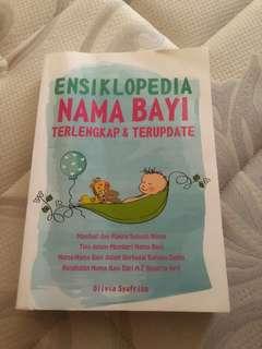 Buku arti nama bayi / cari nama bayi / buku nama