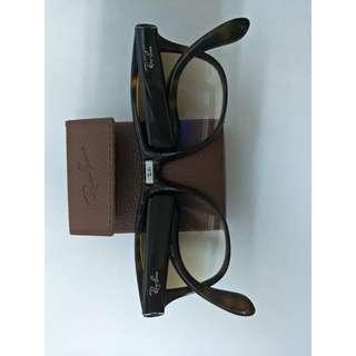 🚚 Ray Ban折疊款太陽眼鏡 膠框琥珀色 雷朋RB4105
