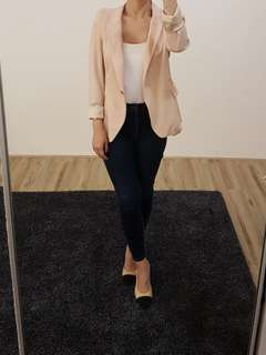 Zara Woman Blush Blazer