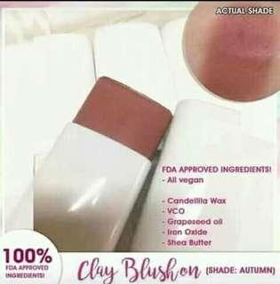 Clay blush