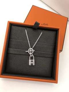 Hermes silver necklace 925 純銀