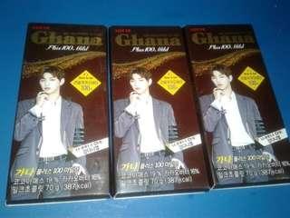 Kang Daniel Lotte Ghana Chocolate 70g