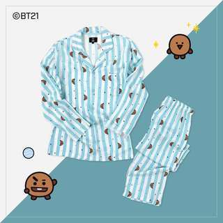 [PREORDER] BTS BT21 pyjamas set