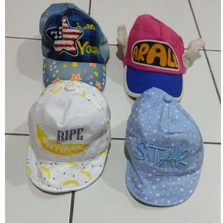 Girls Hat (RM13 Each)