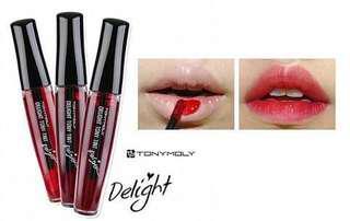 Tony Moly tint Delight (Cherry pink 01)
