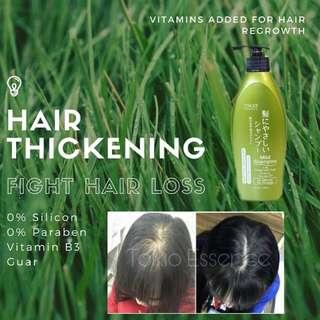 Hair thicken/vitamin shampoo