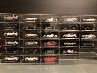極罕絕版1:64 Kyosho Mercedes Benz一套27架