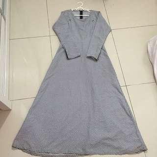 Mini Checkered Dress