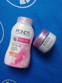 ponds face powder n flawless white