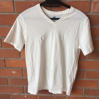 PreLoved H&M T-shirt (Cream)