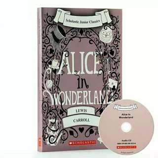 愛麗絲夢遊仙境 Alice In Wonderland (with CD) 英文故事書
