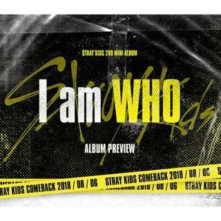 [PREORDER] Stray Kids - I am Who (2nd Mini Album)