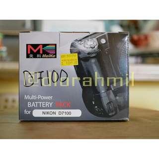 Meike MK-D7100 Vertical Battery Grip for Nikon D7100