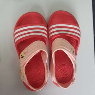 Adidas Strap On Sandals Slippers 9k Beach wear summer ootd not stan smith bee pooh auth authentic