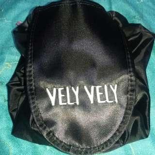 Vely Vely Travel Drawstring Bag Makeup Pouch