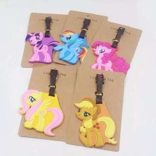My little pony luggage tag holder