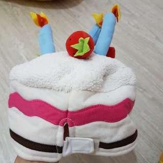 兒童生日蛋糕造型帽