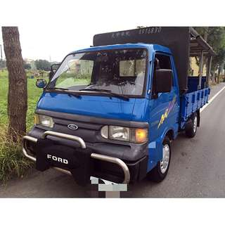 2005年 載卡多 2.0L 貨車 .雙折升降尾門 + 棚 .可超貸可私分 !!