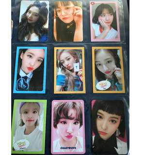 WTT Kpop Photocards
