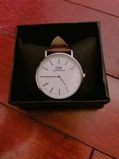 🚚 DanielWellingtonW DW手錶(咖啡錶帶)
