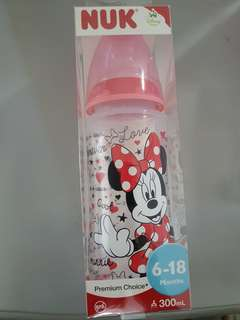 NUK Minnie Mouse Milk Bottle